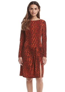 MICHAEL Michael Kors® Anaconda Drape Dress