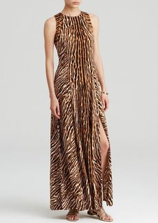 MICHAEL Michael Kors Animal Print Maxi Dress