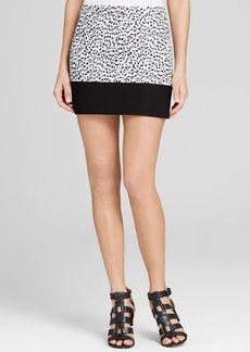 MICHAEL Michael Kors Animal Print Mini Skirt