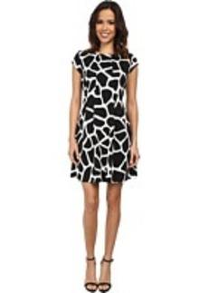 MICHAEL Michael Kors Antalia Giraffe Flare Dress