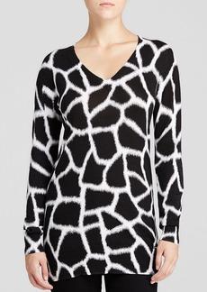 MICHAEL Michael Kors Antalia Giraffe Print Sweater