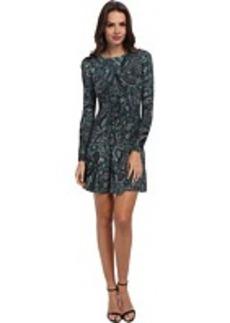 MICHAEL Michael Kors Ashbury Paisley-Print Sweater Dress
