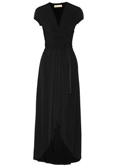 MICHAEL Michael Kors Asymmetric stretch-jersey maxi dress