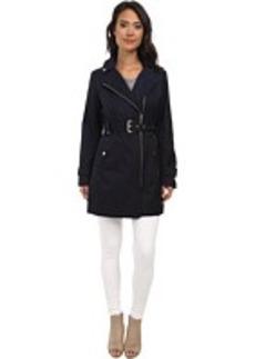 MICHAEL Michael Kors Asymmetrical Zip Coat
