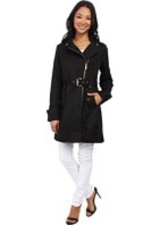 MICHAEL Michael Kors Asymmetrical Zip Coat