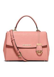 MICHAEL MICHAEL KORS Ava Leather Satchel Bag