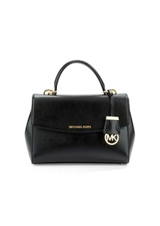 MICHAEL MICHAEL KORS Ava Saffiano Leather Satchel