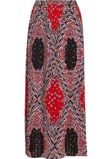 MICHAEL Michael Kors Bandana-print crepe maxi skirt