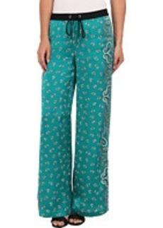MICHAEL Michael Kors Bandana Print Wide Leg Pant