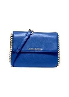 MICHAEL Michael Kors Bedford Double-Gusset Crossbody Bag, Electric Blue