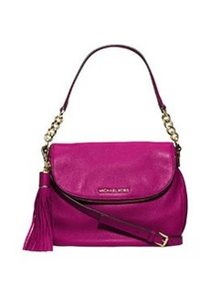 MICHAEL Michael Kors Bedford Medium Tassel Convertible Shoulder Bag, Fuchsia