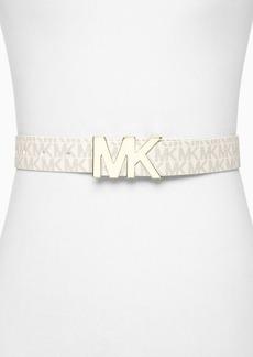 MICHAEL Michael Kors Belt - Logo PVC Panel