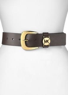 MICHAEL Michael Kors  Belt - Solid MK Logo