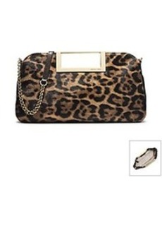 MICHAEL Michael Kors® Berkley Leopard-Print Hair Calf Clutch
