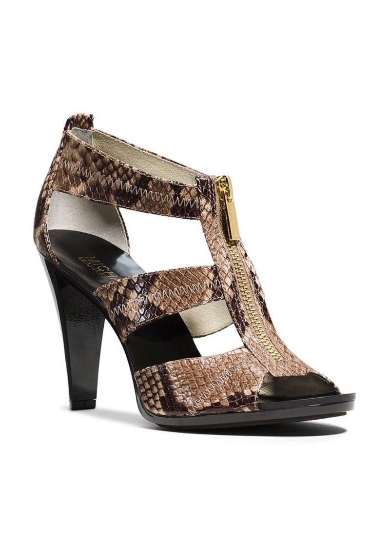 michael michael kors michael michael kors berkley t strap high heel sandals shoes shop it to me. Black Bedroom Furniture Sets. Home Design Ideas