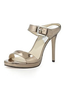 MICHAEL Michael Kors Beverly Specchio Mule Pump, Nickel
