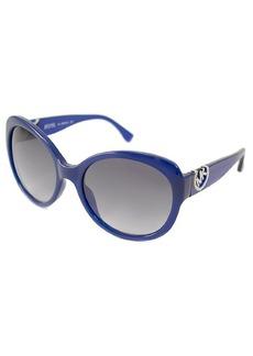 MICHAEL Michael Kors Black oval plastic Tori sunglasses