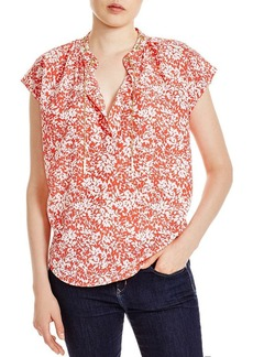 MICHAEL Michael Kors Bluebell Printed Top