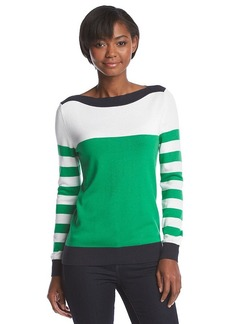 MICHAEL Michael Kors® Boatneck Stripe Sweater