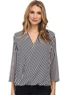 MICHAEL Michael Kors Boden Stripes Blouse
