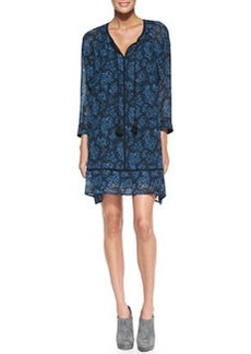 MICHAEL Michael Kors Boho Paisley-Print Tunic Dress