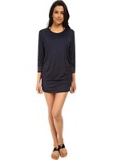 MICHAEL Michael Kors Boho Solids Shirred Cover-Up