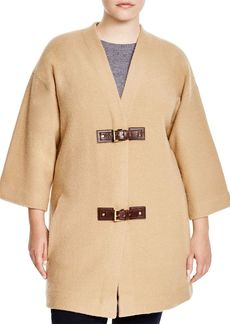 MICHAEL Michael Kors Boiled Wool Cardi Coat