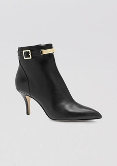 MICHAEL Michael Kors Booties - Harding Ankle Plaque