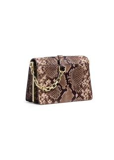 MICHAEL MICHAEL KORS Brinkley Embossed Leather Crossbody Bag