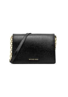 MICHAEL MICHAEL KORS Brinkley Leather Shoulder Bag