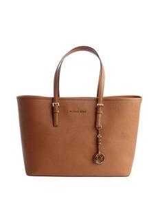 MICHAEL Michael Kors brown leather 'Jet Set' tote