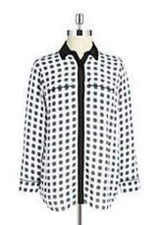 MICHAEL MICHAEL KORS Button-Front Blouse
