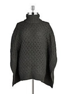 MICHAEL MICHAEL KORS Cable Knit Poncho