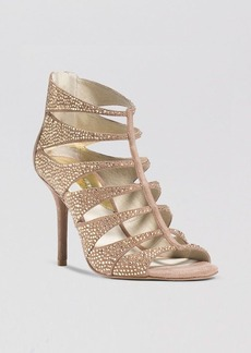MICHAEL Michael Kors Caged Evening Sandals - Mavis High Heel