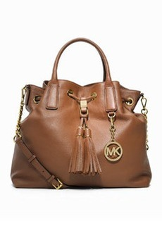 MICHAEL Michael Kors Camden Large Drawstring Satchel Bag, Luggage