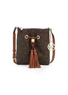 MICHAEL Michael Kors Camden Logo Crossbody Bag, Brown