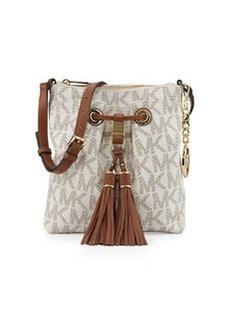 MICHAEL Michael Kors Camden Logo Crossbody Bag, Vanilla