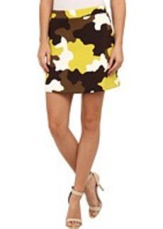 MICHAEL Michael Kors Camo Flare Mini Skirt