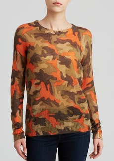 MICHAEL Michael Kors Camouflage Print Sweater