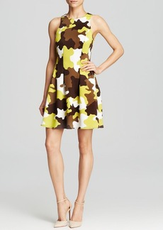 MICHAEL Michael Kors Camouflage Scuba Dress