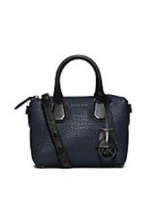 MICHAEL MICHAEL KORS Campbell Small Leather Satchel