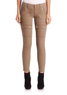 MICHAEL MICHAEL KORS Canvas Skinny Cargo Pants