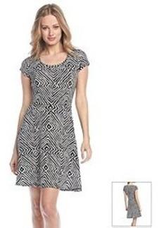 MICHAEL Michael Kors® Cap Sleeve Flare Dress
