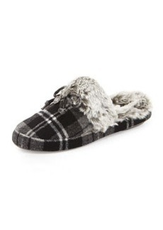 MICHAEL Michael Kors Carter Plaid Slipper, Heather Gray