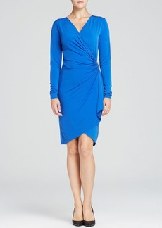 MICHAEL Michael Kors Cascade Faux Wrap Dress