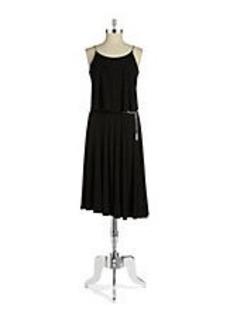 MICHAEL MICHAEL KORS Chain Link Popover Dress