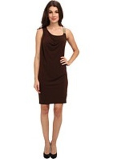 MICHAEL Michael Kors Chain Strap Drape Dress