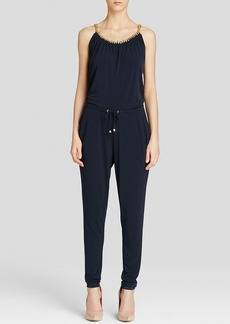 MICHAEL Michael Kors Chain Trim Jumpsuit