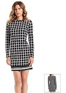 MICHAEL Michael Kors® Checkered Border Dress