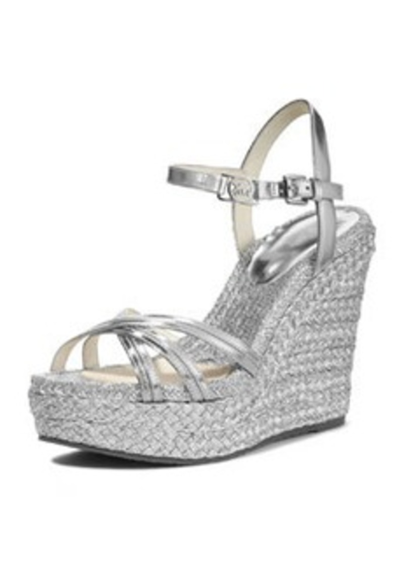 MICHAEL Michael Kors Cicely Metallic Wedge Sandal